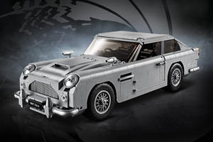 Lego James Bond Aston Martin DB5 Features A Working Ejector Seat
