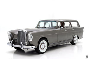 This Custom 1960 Bentley Wagon Will Make You The King Of The School Pickup Line