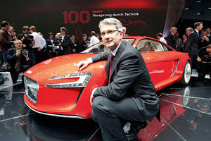 Audi Is About To Get A New CEO Because Its Current One Is Still Locked Up