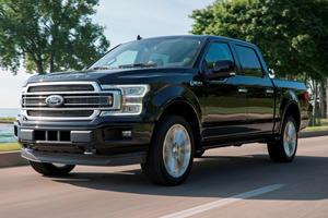 2019 Ford F-150 Limited Gains 450-HP Raptor Engine