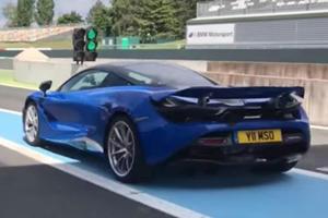Watch The McLaren 720S Beat A Lamborghini Huracan Performante Lap Record
