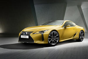 Lexus Reveals Ultra-Rare LC 500 Limited Edition