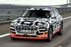 Audi e-tron Prototype First Drive Review: Tomorrow's World Today