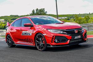 Champ Scores Civic Type R's Final Record At Hungaroring