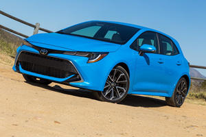 "Toyota Mulling ""Hot"" Hybrid Corolla Hatchback"