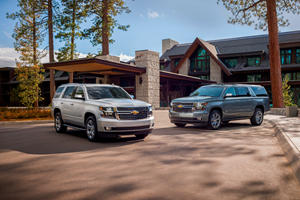 Chevrolet Adds New 6.2-Liter V8 Special Editions For Tahoe And Suburban