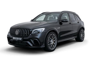 Brabus Packed 591 Horsepower Into This Mercedes GLC