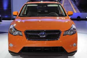 2013 Subaru XV Crosstrek Arrives in New York