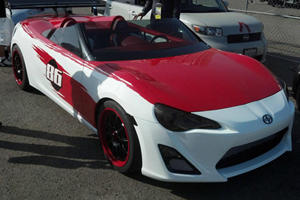 Scion FR-S Speedster Concept by Cartel Customs Spotted in California