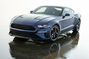 Check Out The Only Ford Mustang Bullitt Edition To Be Painted Blue