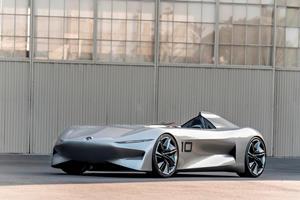 Infiniti Reveals Stunning Prototype 10 Speedster At Pebble Beach