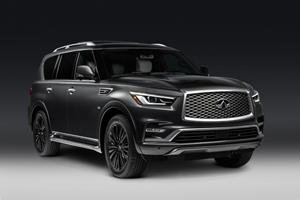 2019 Infiniti QX80 Limited Costs Nearly $25,000 More Than The Base Model