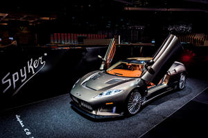 Koenigsegg Still Hasn't Built A Single V8 Engine For Spyker