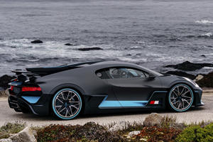 The Bugatti Divo's Biggest Competitor Is Sitting Right Next To It