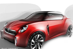 Smoking Hot MG Icon Concept Getting Ready for Beijing
