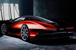 Rear-Wheel-Drive McLaren Speedtail Hits 62 MPH In Two Seconds