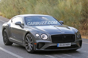 Is This Our First Look At The New Bentley Continental GT Speed?
