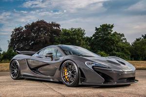 Former F1 Driver Jenson Button Puts Beloved McLaren P1 Up For Sale