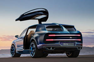 Get Ready For A Hyper-SUV Based On The Bugatti Chiron
