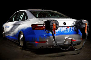 600-HP Volkswagen Jetta Smashes Land Speed Record With 210 MPH Run
