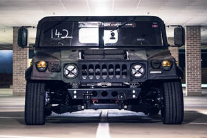 Bonkers 800-HP Humvee Ventures Off-Road And Onto The Drag Strip