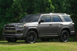 Toyota 4Runner Gets The Blackout Treatment With New Nightshade Special Edition