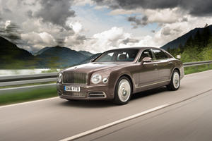 Rearview Camera Recall Will Displease Bentley Mulsanne Owners