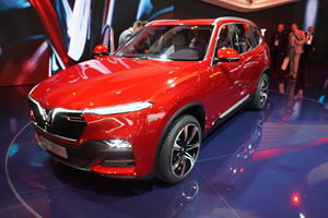 VinFast Shows Off First Ever Vietnamese Cars In Paris