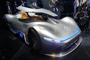 Stunning Mercedes EQ Silver Arrow Concept Debuts In Paris