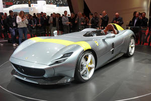 Ferrari Monza SP1 And SP2 Are Not Street Legal In The US