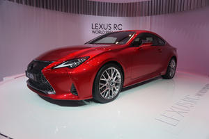 2019 Lexus RC Coupe Gets Facelift For Paris Debut