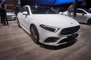 2019 Mercedes A-Class Sedan Looks Sharp In Paris, But Do We Need It In The US?