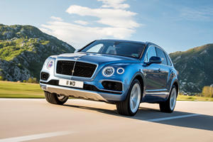 The Bentley Bentayga Will Be The Brand's First And Last Diesel Model