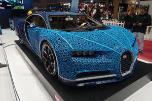 Life-Size Lego Bugatti Chiron Is The Best Toy Ever Built
