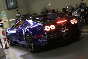 Caught on Camera - Gemballa Racing's Bugatti Veyron Sang Noir
