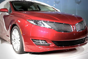 Video: All-New 2013 Lincoln MKZ Launched in NYC