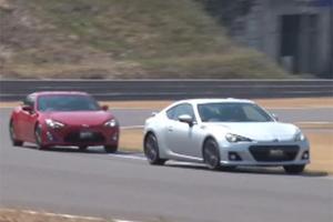 Subaru BRZ vs. Scion FR-S vs. Mazda MX-5 Miata in Japan