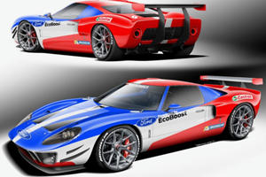 Stunning Ford GT40 Replica Packs A Ford GT Engine But With More Power
