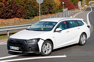 Opel Insignia Spy Shots Have Us Wondering About The Buick Regal