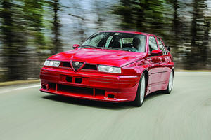 The Alfa Romeo 155 GTA Stradale Was Italy's Answer To The BMW M3
