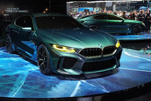 Here's Some Hard Proof Of The BMW M8 Competition Model