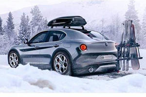 Could This Be The Upcoming Baby Stelvio?