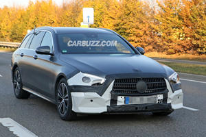 Mercedes E-Class Wagon Spied With CLS-Inspired Facelift