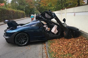 Brand New McLaren Senna Crashes Hours After Delivery [UPDATE]