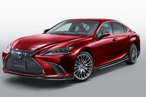 TRD Makes New Lexus ES F Sport Even Sportier