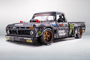 This Is Ken Block's Awesome 914-HP Ford F-150 Hoonitruck