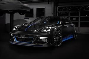 Porsche Panamera Sport Turismo Gets Stylish Carbon-Fiber Upgrade