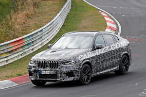 New BMW X6 M Spied Looking Fast And Nimble