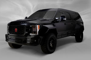 This Ford F-350 Lariat Was Transformed Into World's Most Luxurious SUV