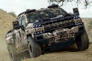 US Military Tests Hydrogen-Powered Chevrolet Silverado